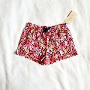 First Impressions Print Shorts